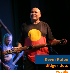 Kevin Kulpe didgeridoo, vocals