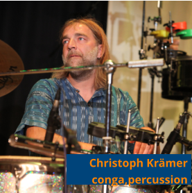 Christoph Krämer conga,percussion